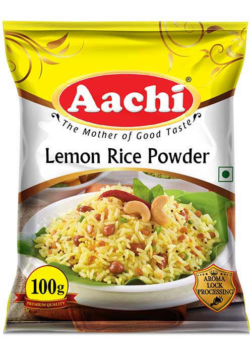 Lemon Rice Powder - Masala Powders for Veg._2