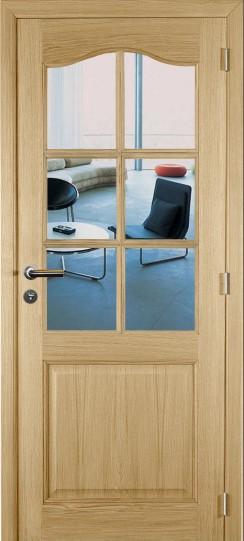 Tradizione oak glass door m04