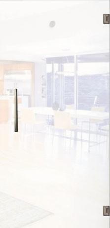 Glass door, matt glass c001