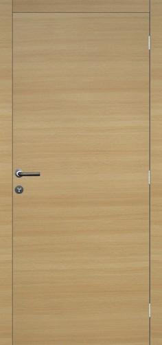 Senza door, oak natural vertical