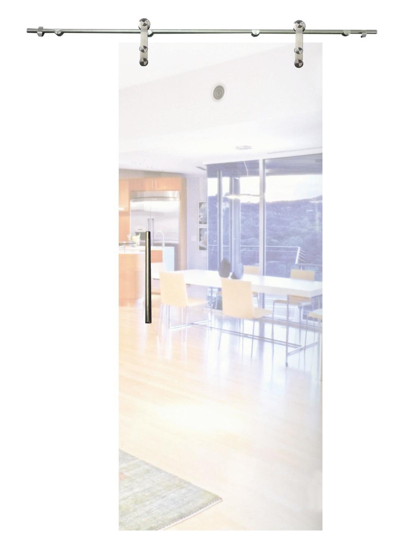 Sliding glass door(scroll left), matt glass C001_2
