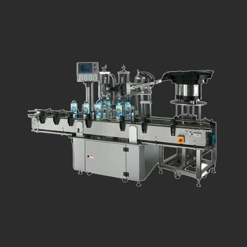 Two head auto capping machine (-indexing-type)