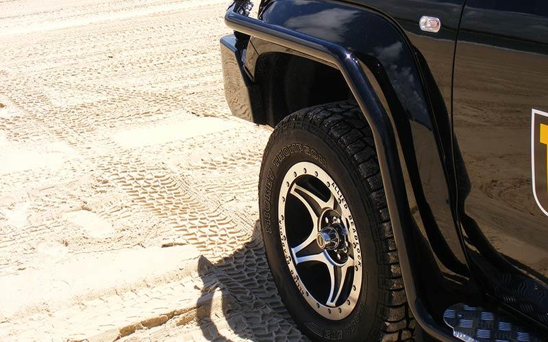 Modular side bars suit volkswagen amarok