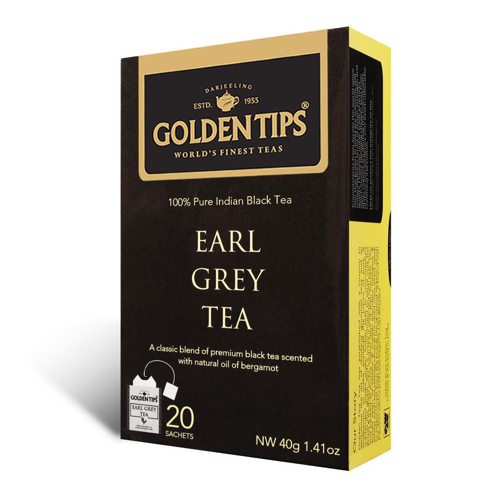 Earl Grey Black Envelope Tea - 20 Tea Bags 40gm_2
