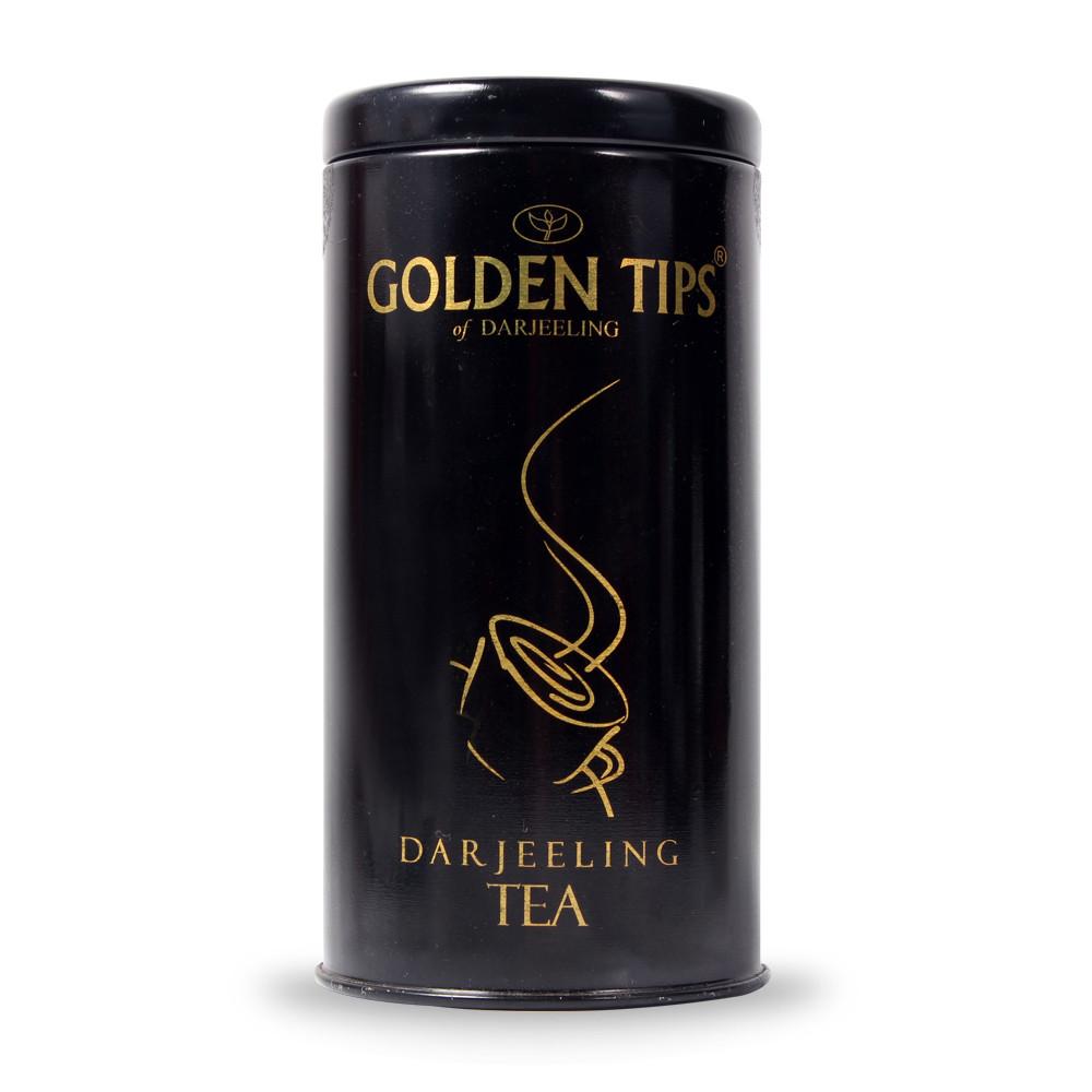 Golden Tips Darjeeling Black Tea - Cylindrical Tin Can- 100g_2