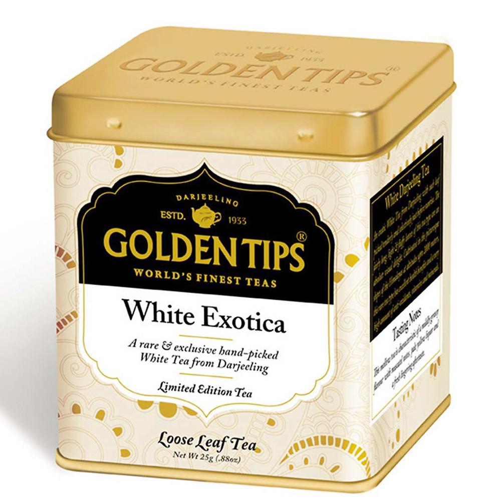 White Exotica Tea Tin Can -25gm_2