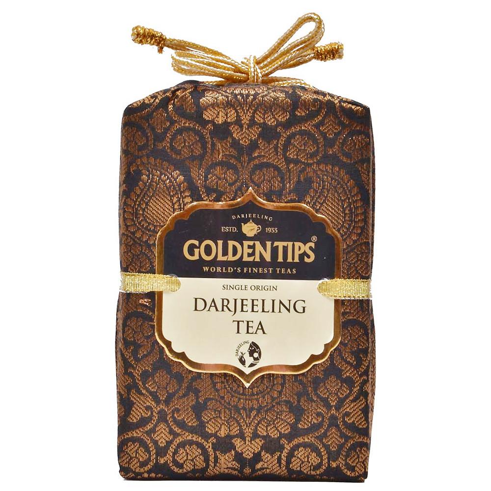Pure Darjeeling Tea - Royal Brocade Cloth Bag_2
