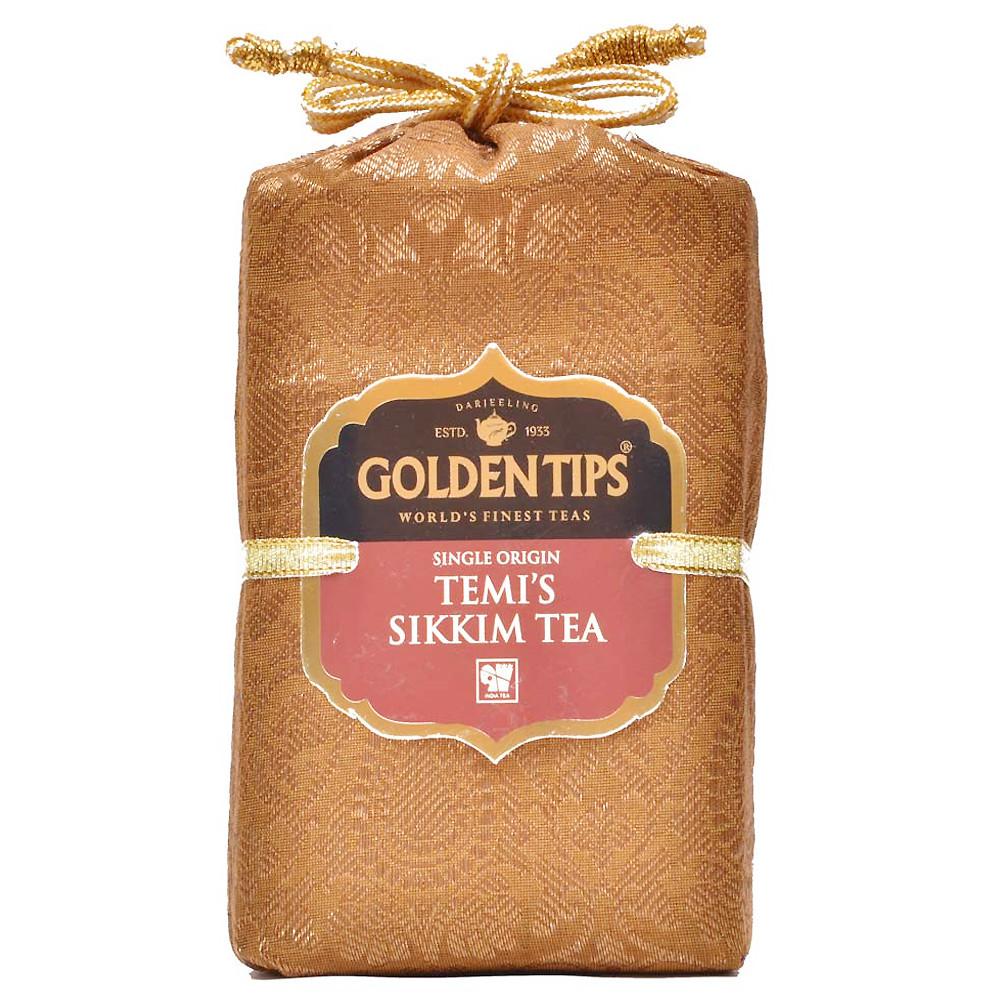 Temi Sikkim Tea - Royal Brocade Cloth Bag_2