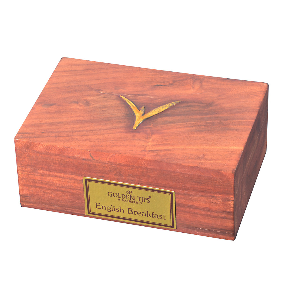 English Breakfast Wooden Box -100gm_2