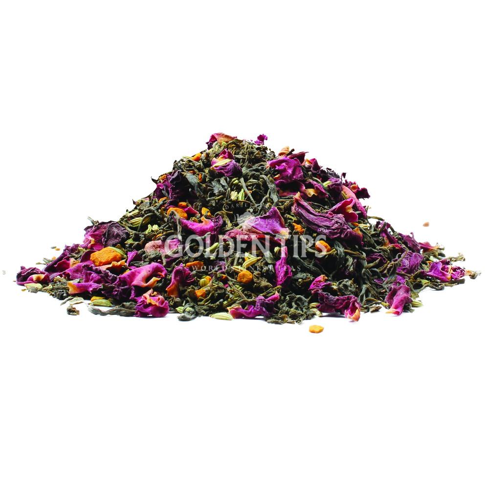 Rose Fennel Turmeric Green Tea 100gm_2