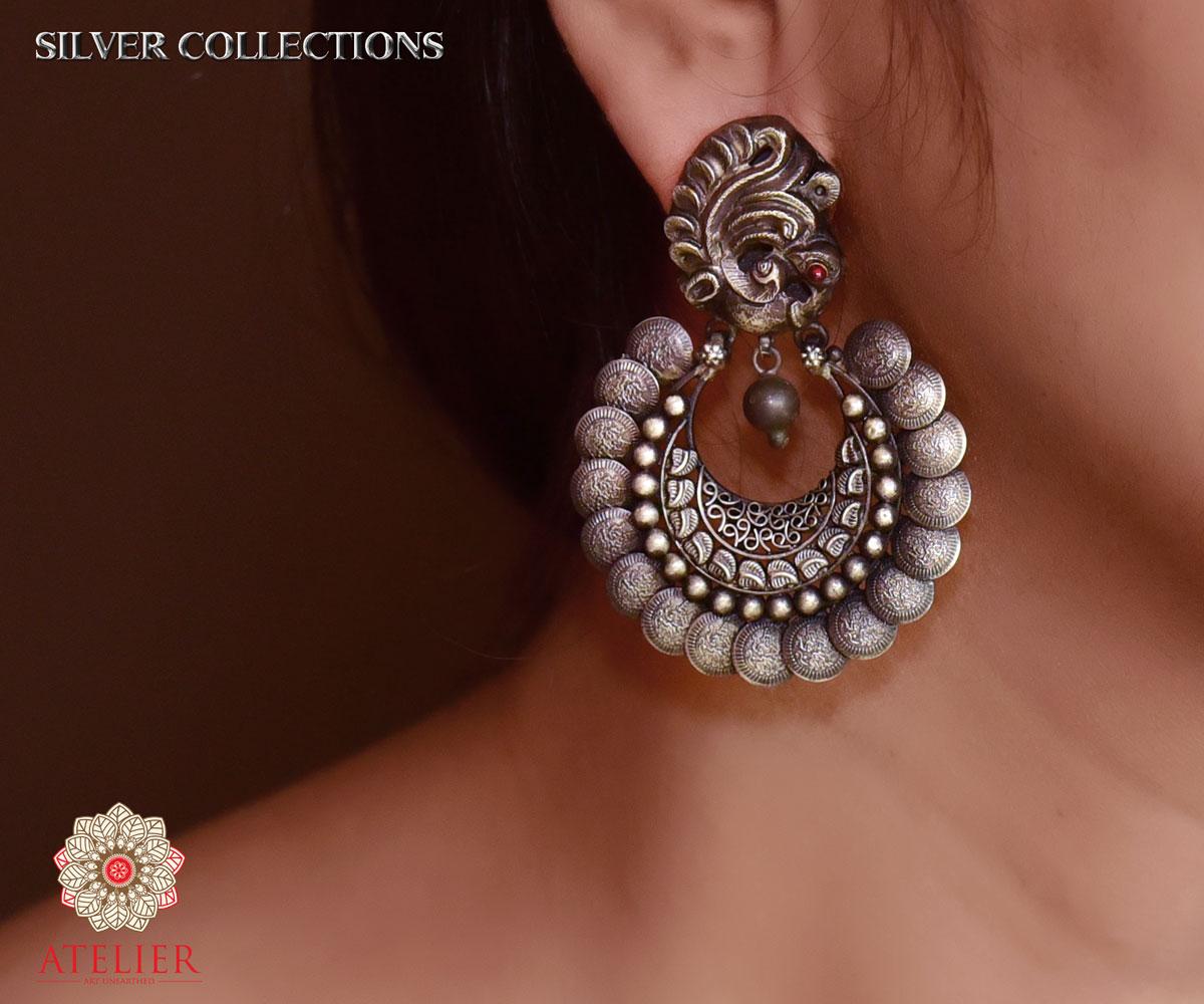 Slve171- 925 earrings