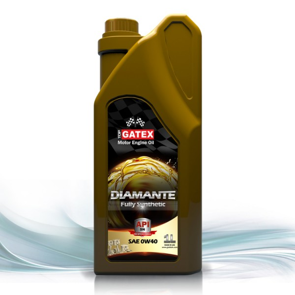 Top gatex motor engine oil sae 0w 40