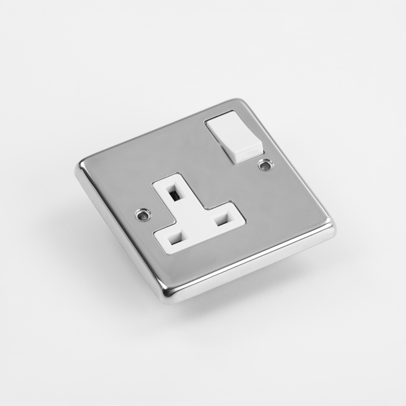 SKU: ELEC 1G-P Surface Mounted 13A Switched Socket_2