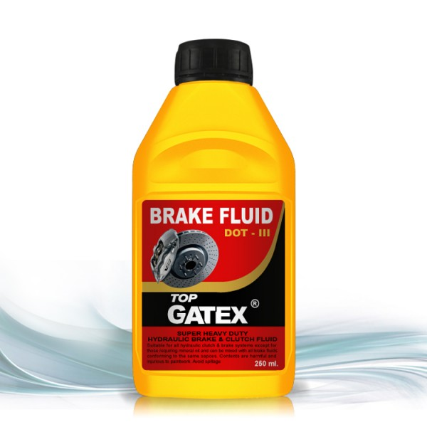 Topgatex hydraulic brake fluid dot 3