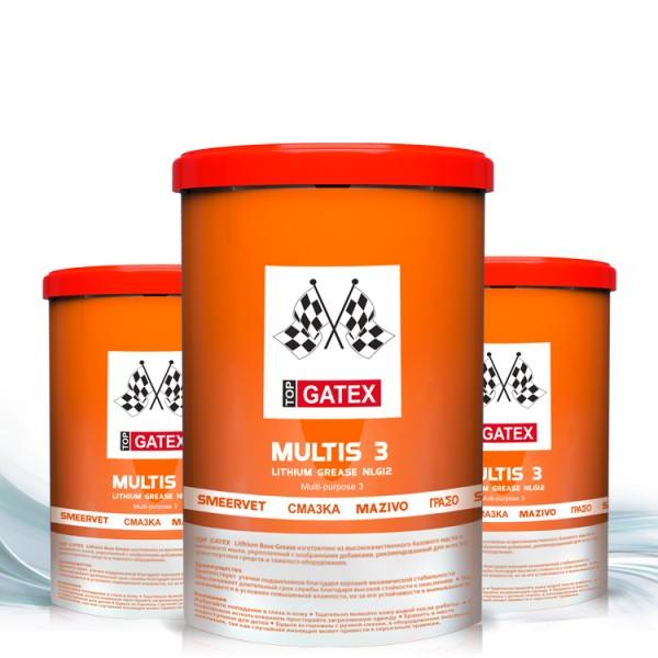 Top gatex multipurpose lithium grease mp3