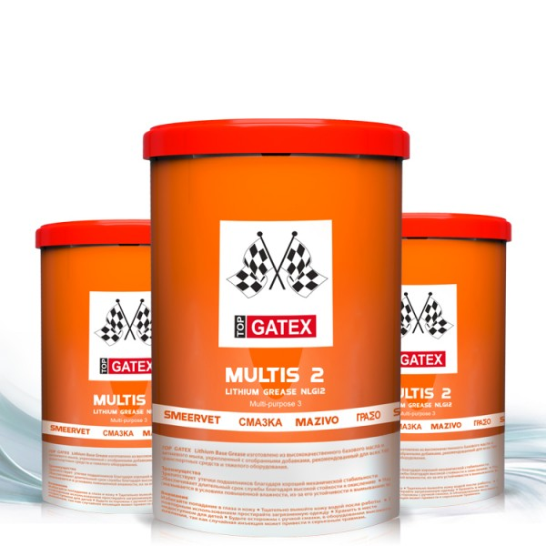 TOP GATEX MULTIPURPOSE LITHIUM GREASE MP2_2