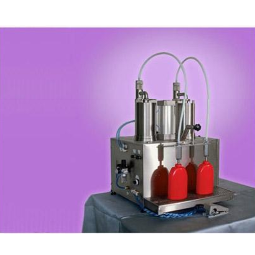 Automatic  volumetric piston filling machine