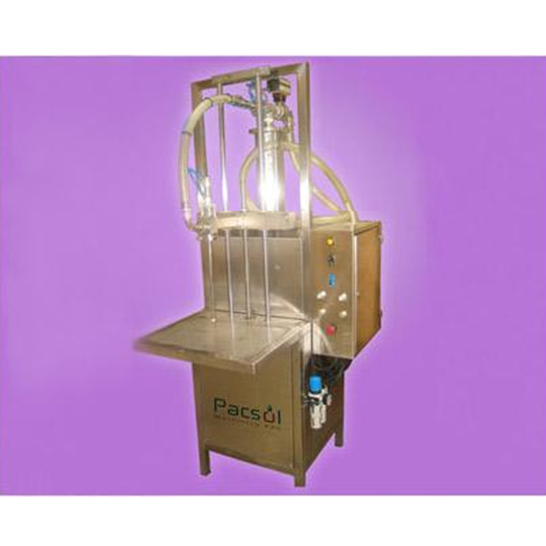 Semi - automatic stand alone volumetric piston filling machine