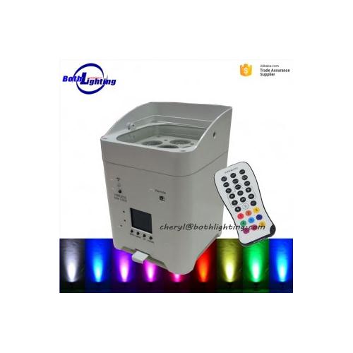 Smart dj 6x18w 6in1 wireless dmx led