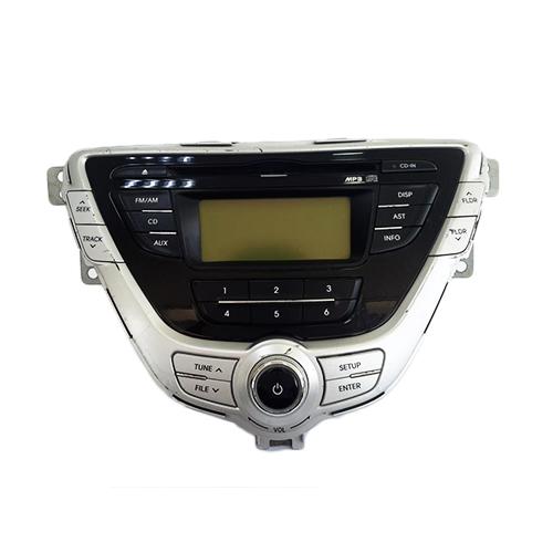 Hyundai elantra 2012 cd screen player (3x350blh)