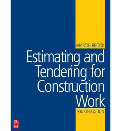 English books- estimating and tendering for construction work