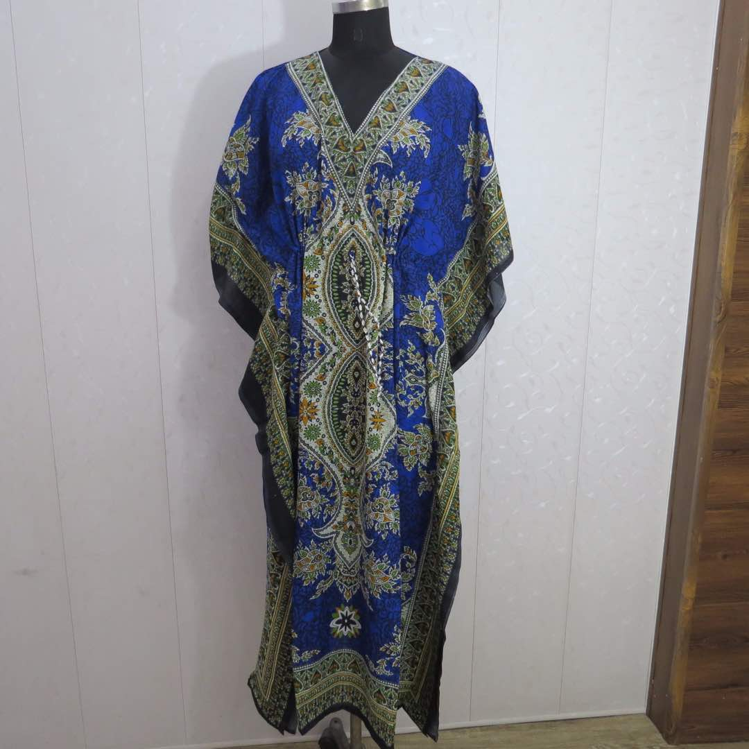 Kaftan printed kaftan dress