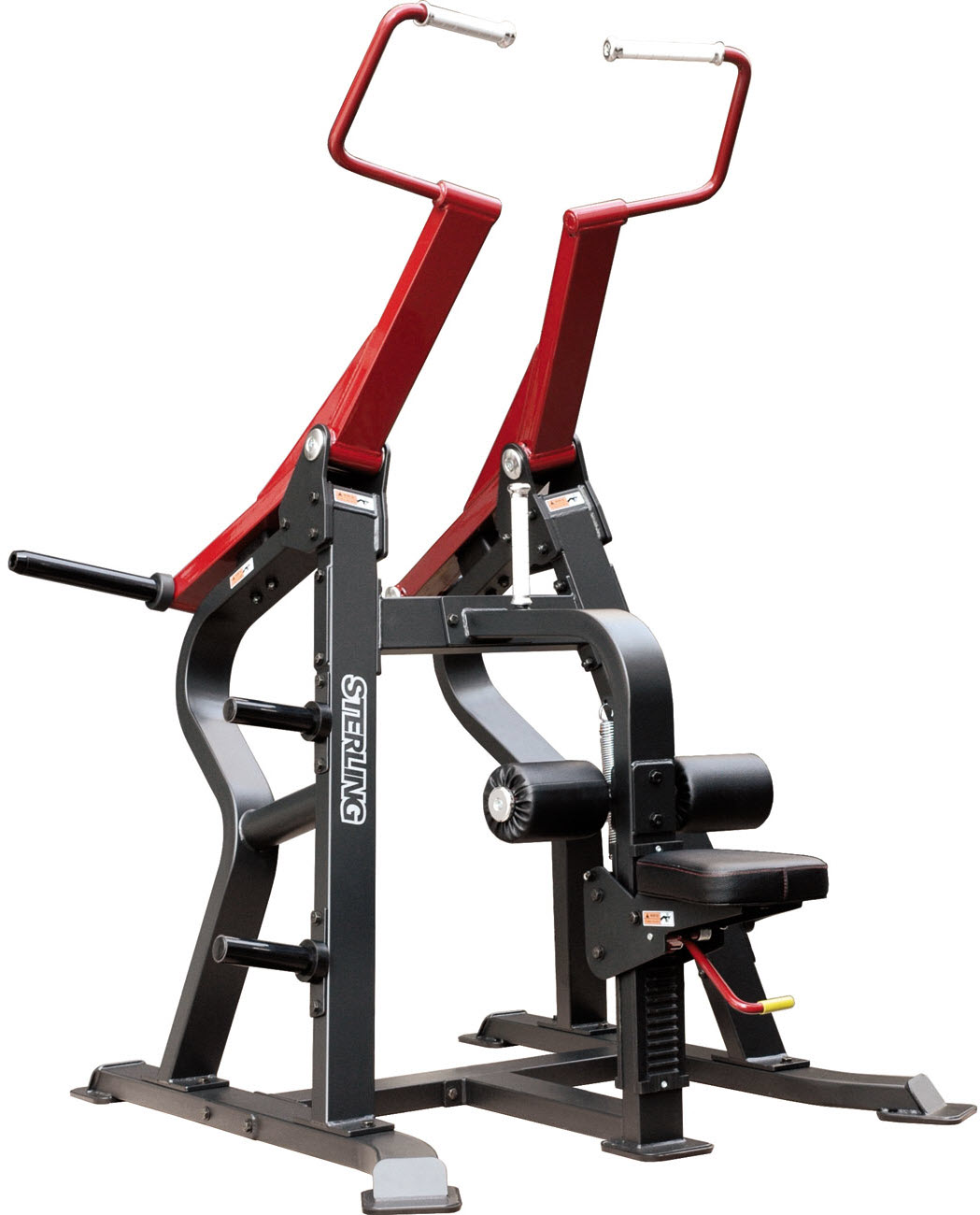 Lateral pulldown machine
