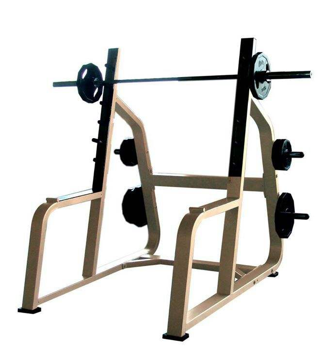 Power squat rack