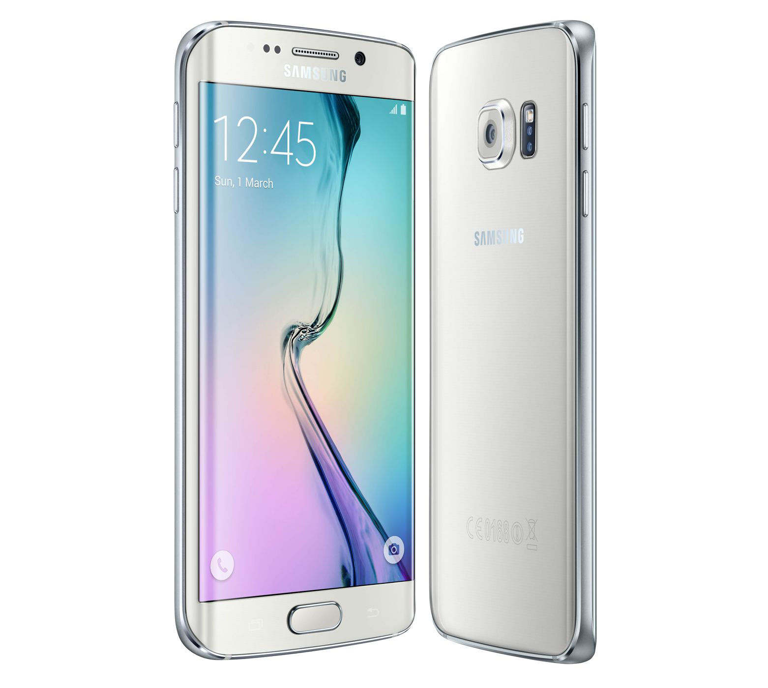 Samsung Galaxy S6 Edge Verizon GSM Unlocked Black and White_3