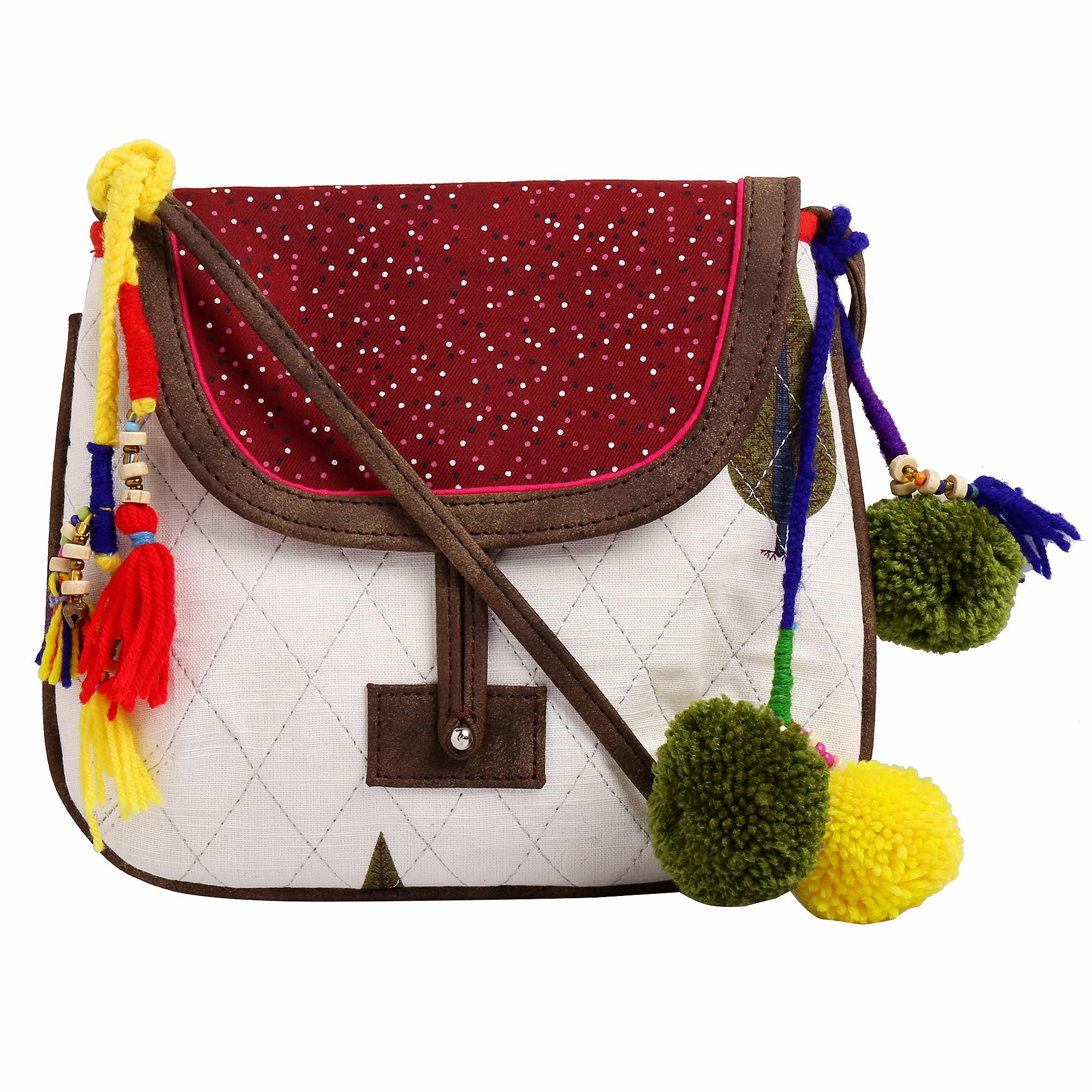 Fabric Vegan Sling Bags_4