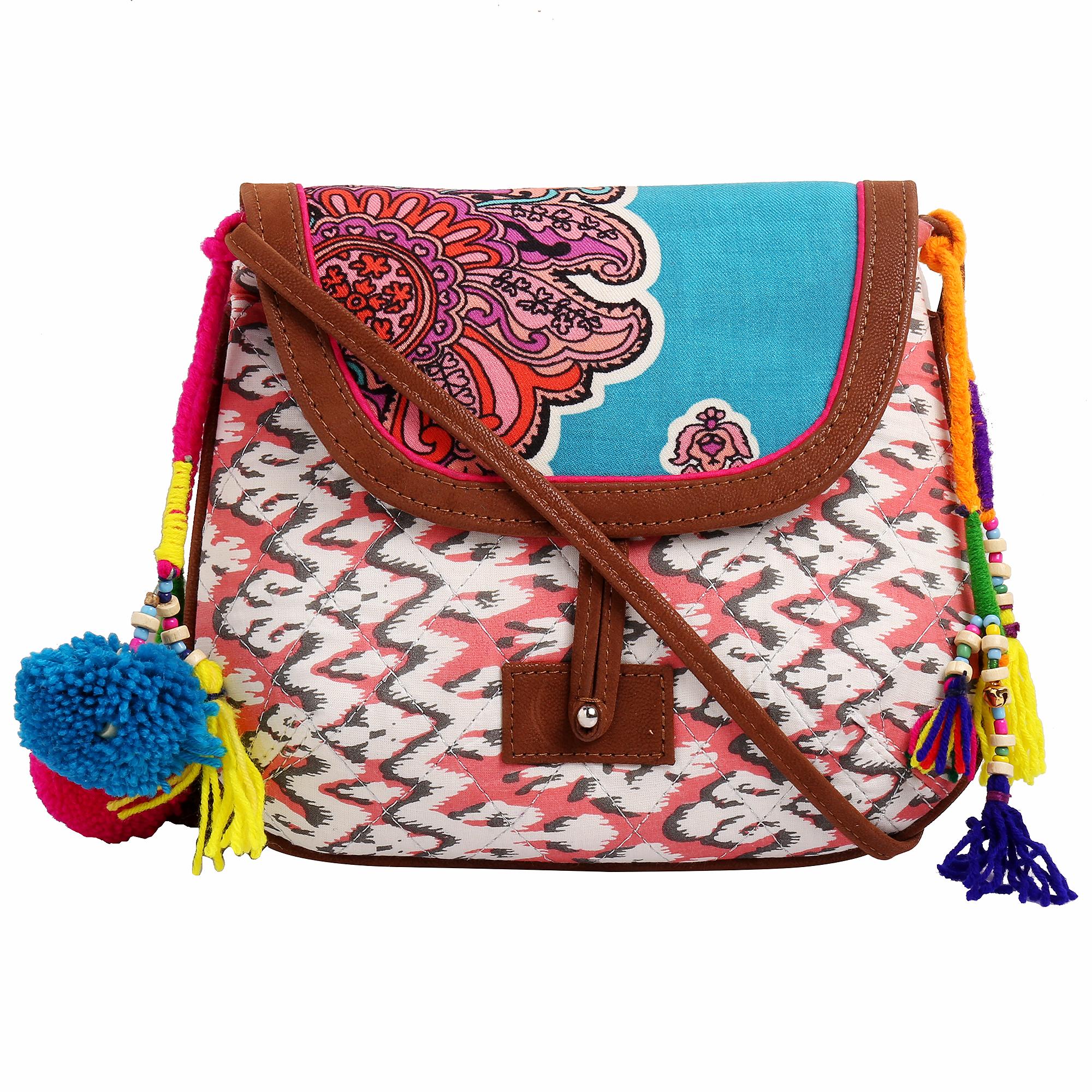Fabric Vegan Sling Bags_5