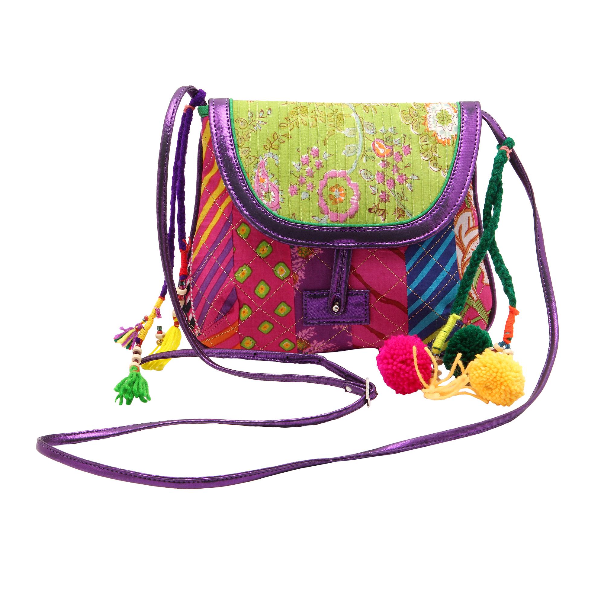 Fabric Vegan Sling Bags_3