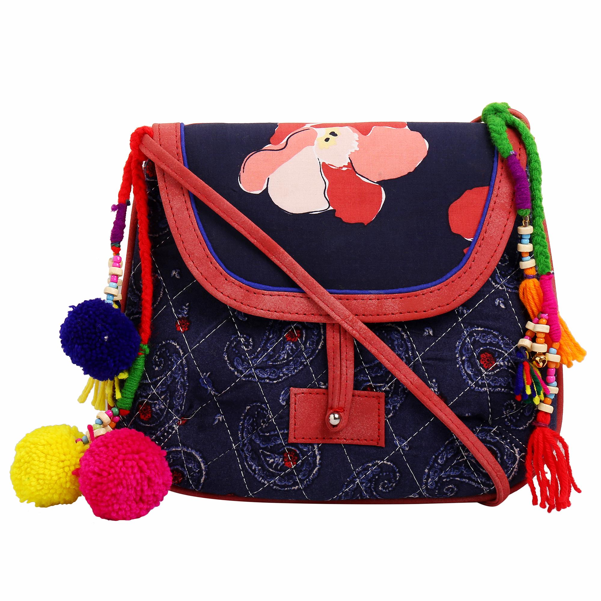 Fabric Vegan Sling Bags_7