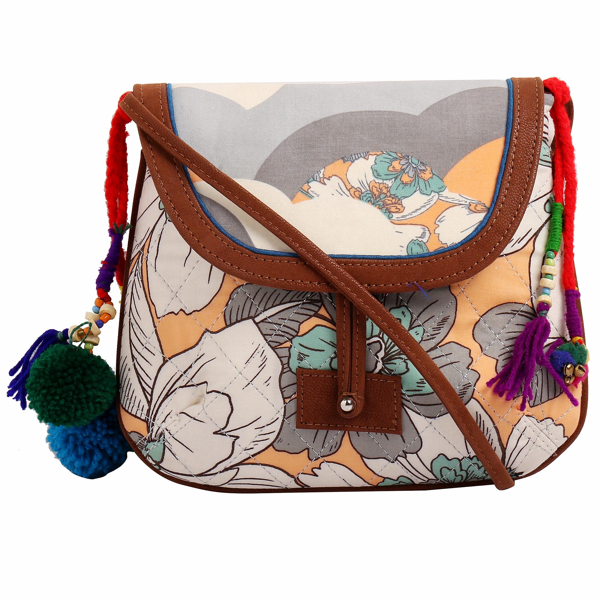 Fabric Vegan Sling Bags_6