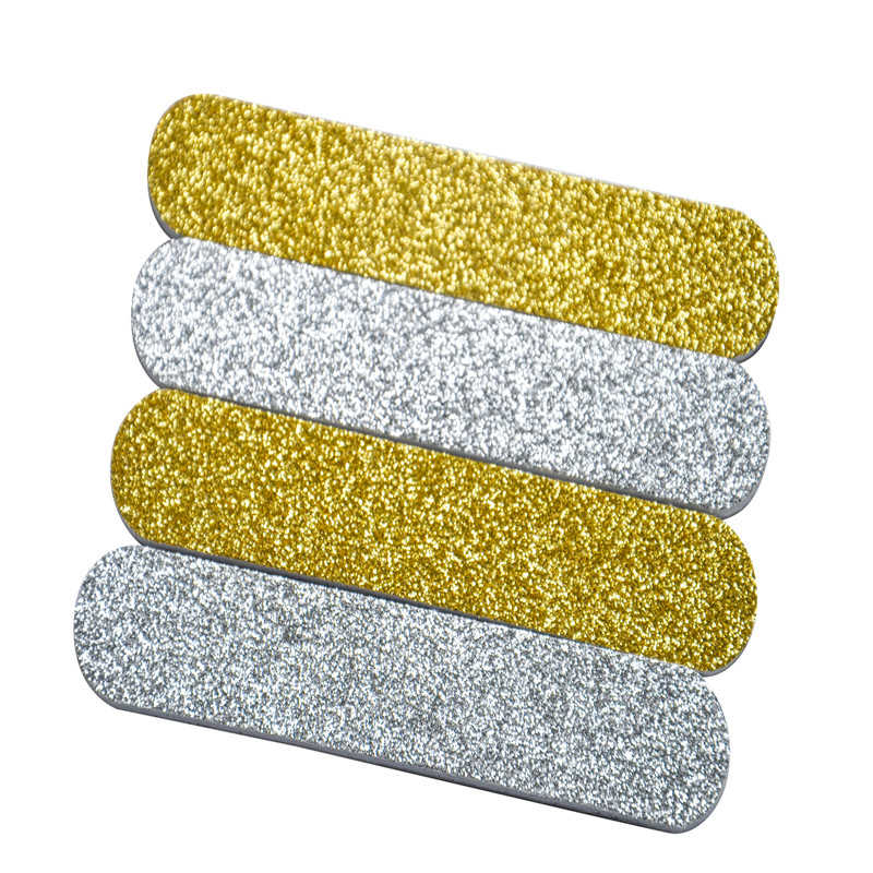 2017 hot-sale promotional giveaway glittering mini nail file