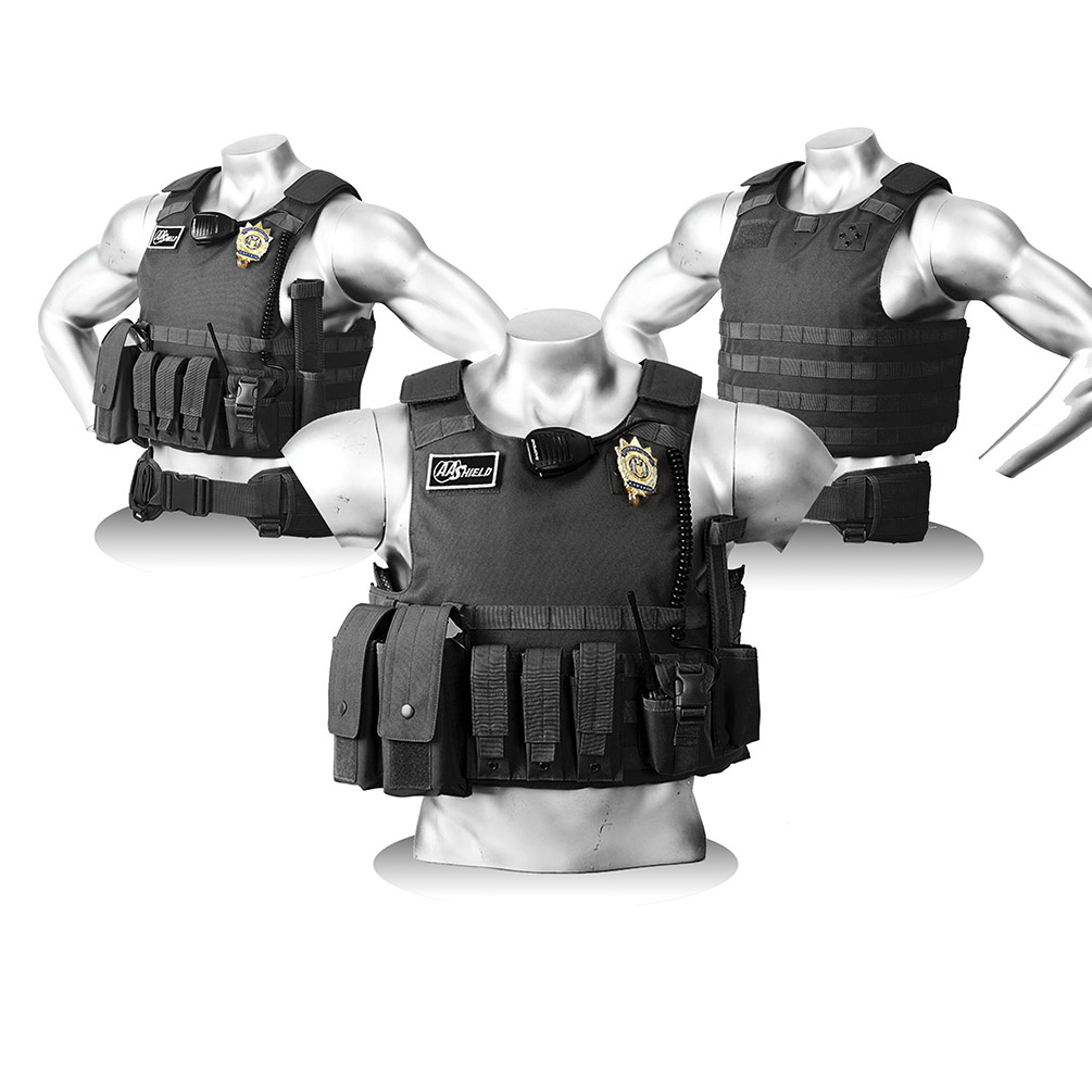 AA Shield Bullet proof and Stab Resistant Body Armor Vest_3