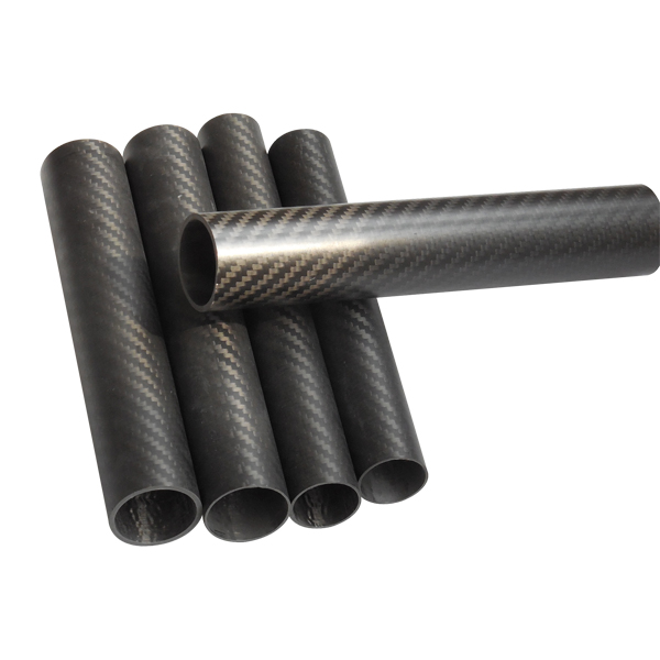 Wholesale Best Price Different size Twill Matte 3K carbon tube Carbon fiber pipe_6