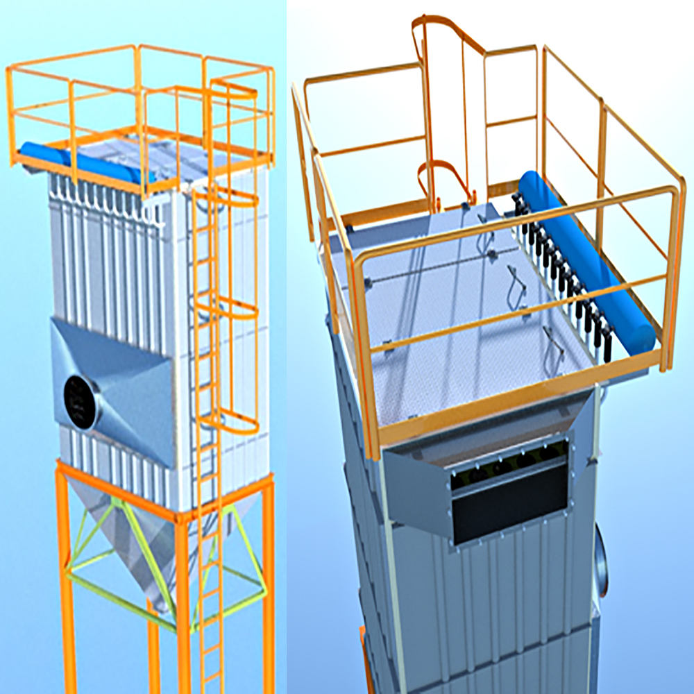 Dust collector bag filter_3