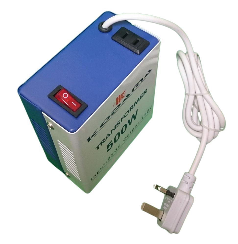 KODAMA Transformer 220V to 110V Power Converter 500 Watt KDT500W_7