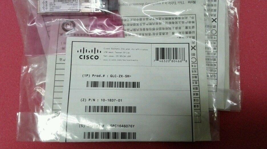 Cisco Transreceiver GLC-ZX-SM_3