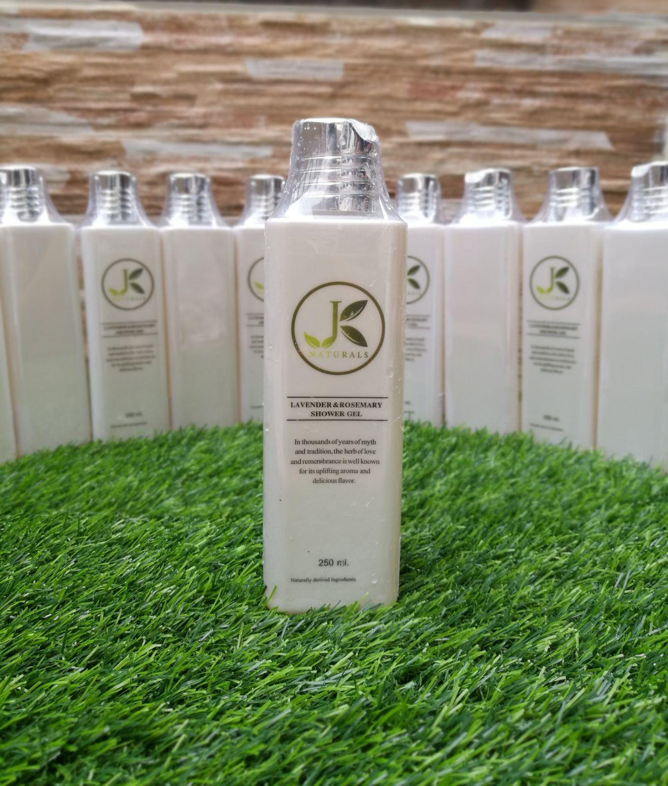 Jk naturals lavender rosemary shower gel