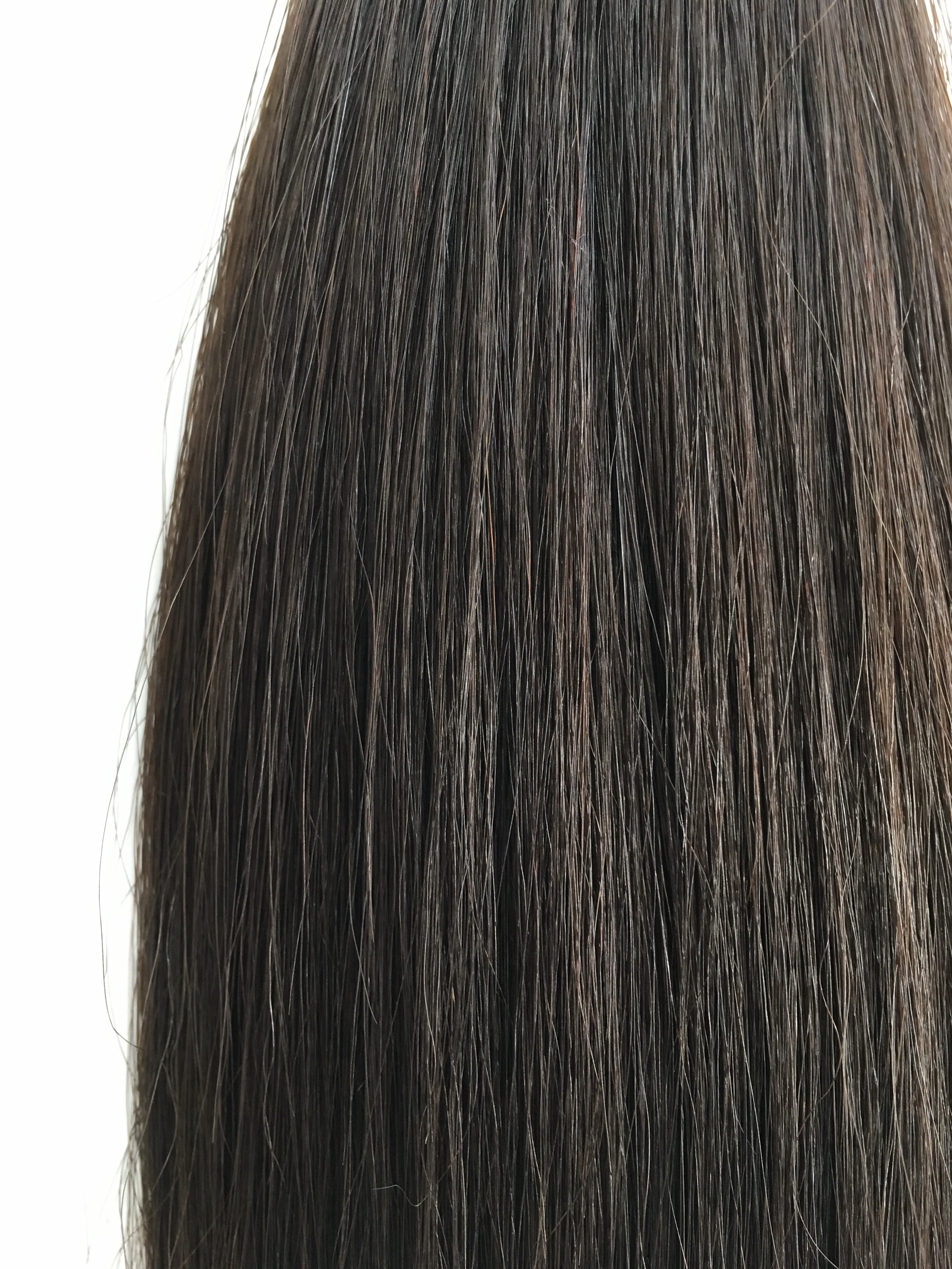 Virgin Uncoloured Brazilian Virgin Remy Human Hair Weft 16inches Curly Wavy or Straight_7