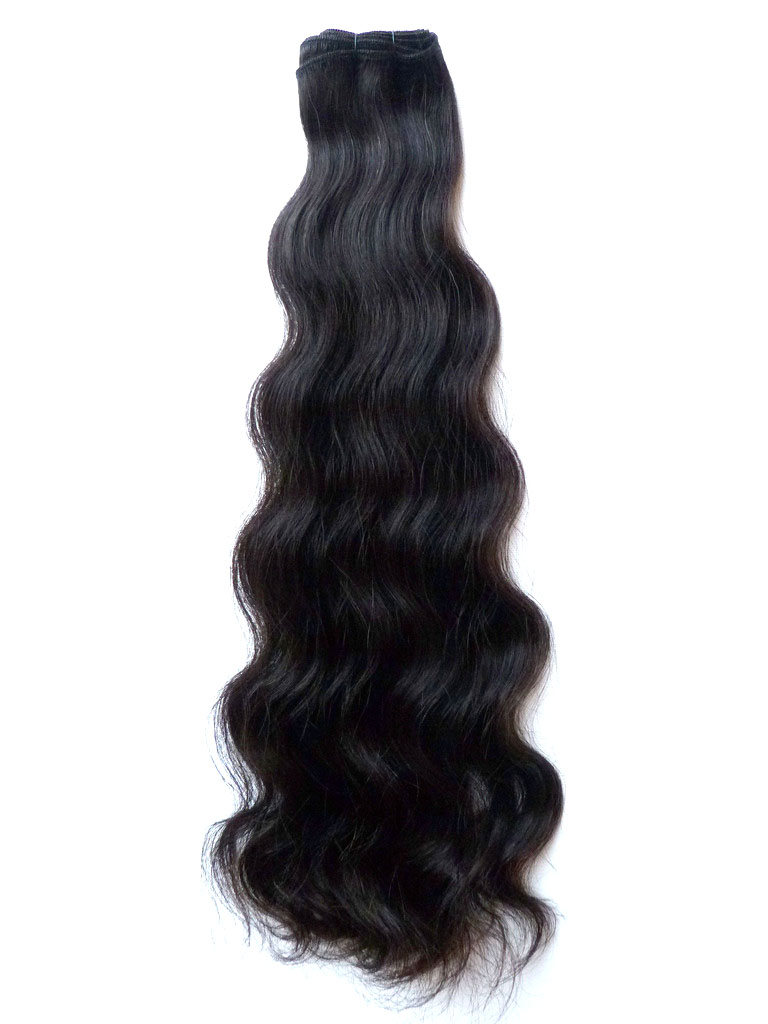 Virgin Uncoloured Brazilian Virgin Remy Human Hair Weft 16inches Curly Wavy or Straight_5