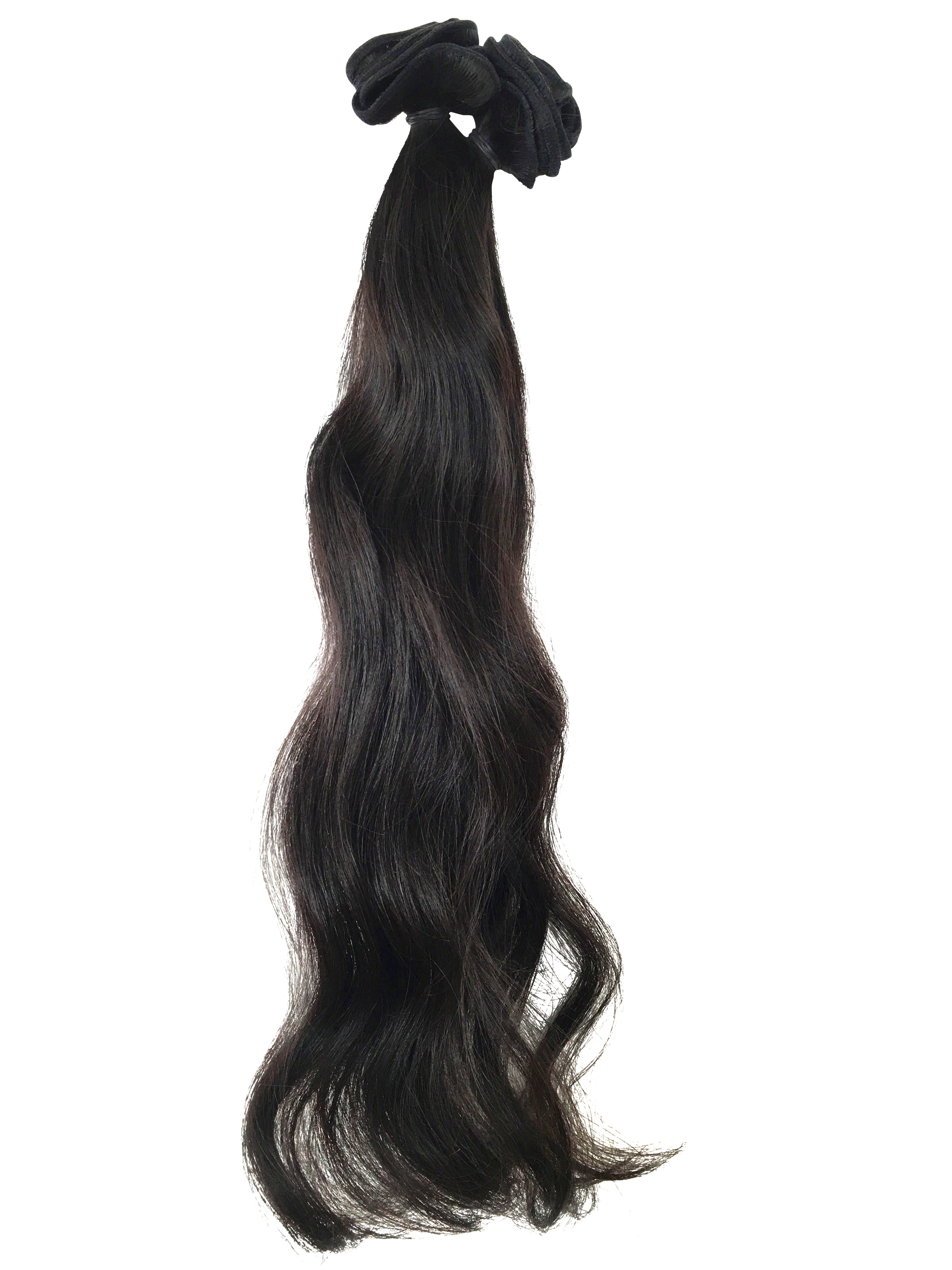 Virgin Uncoloured Brazilian Virgin Remy Human Hair Weft 16inches Curly Wavy or Straight_4