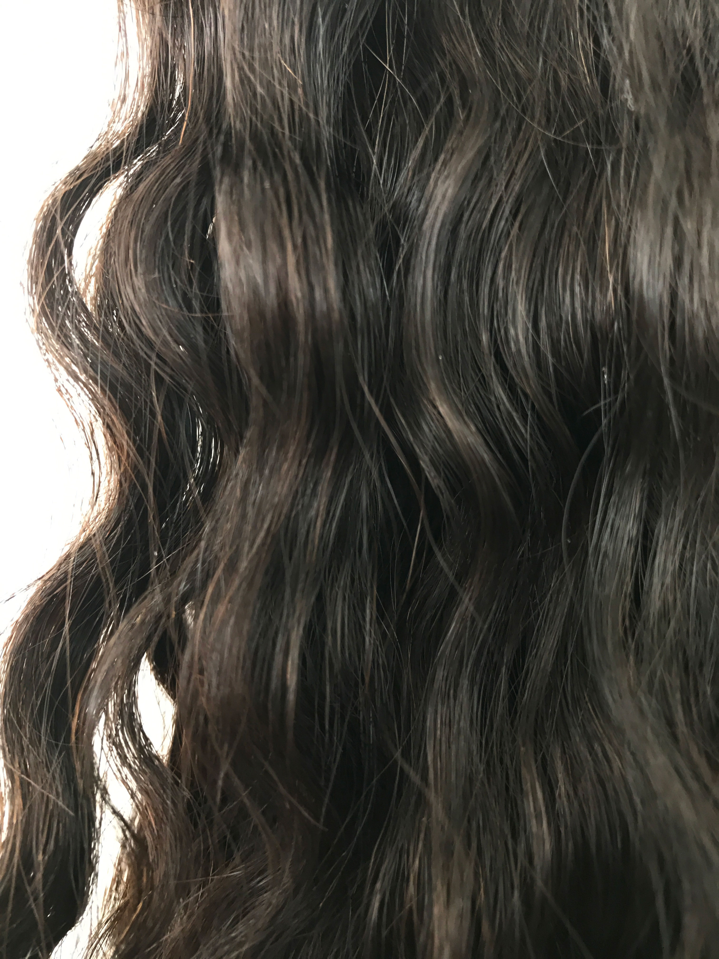 Virgin Uncoloured Brazilian Virgin Remy Human Hair Weft 20inches Curly Wavy or Straight_7