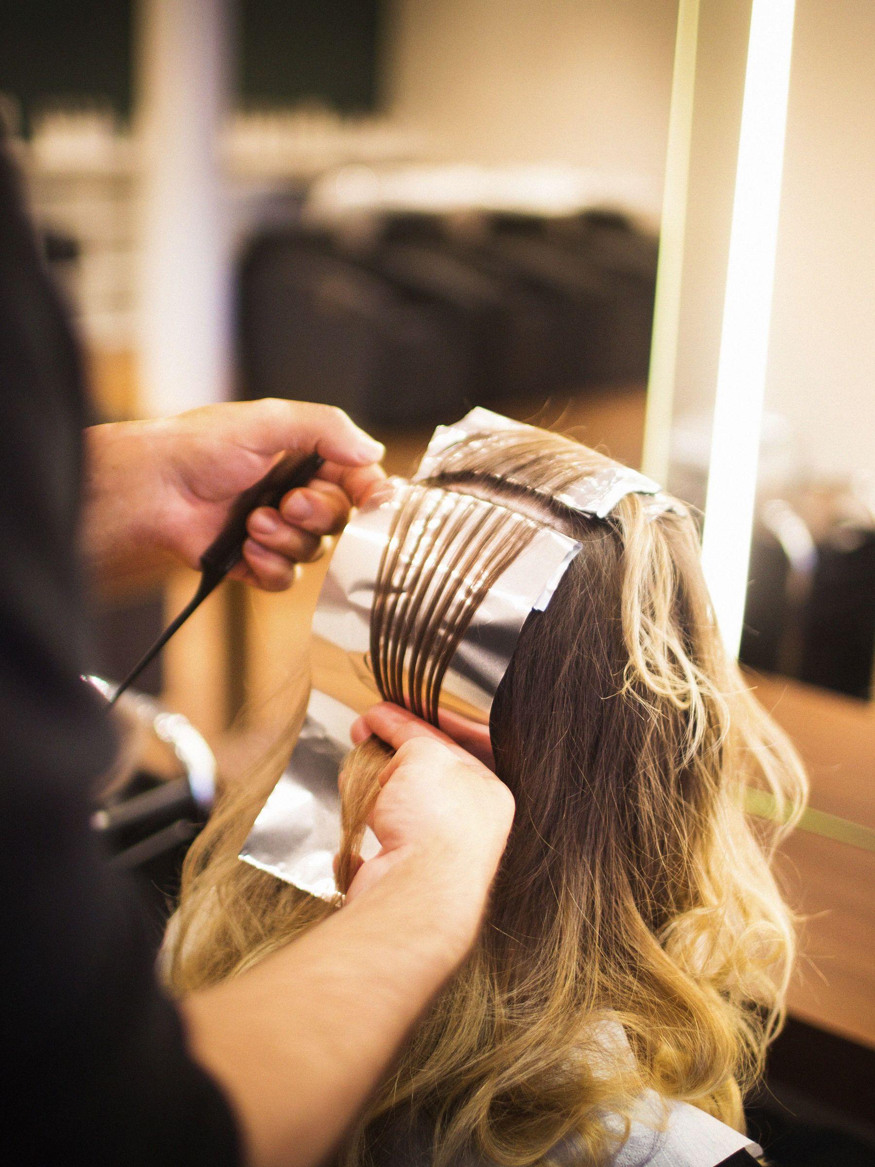 Aluminium hairdressing foil
