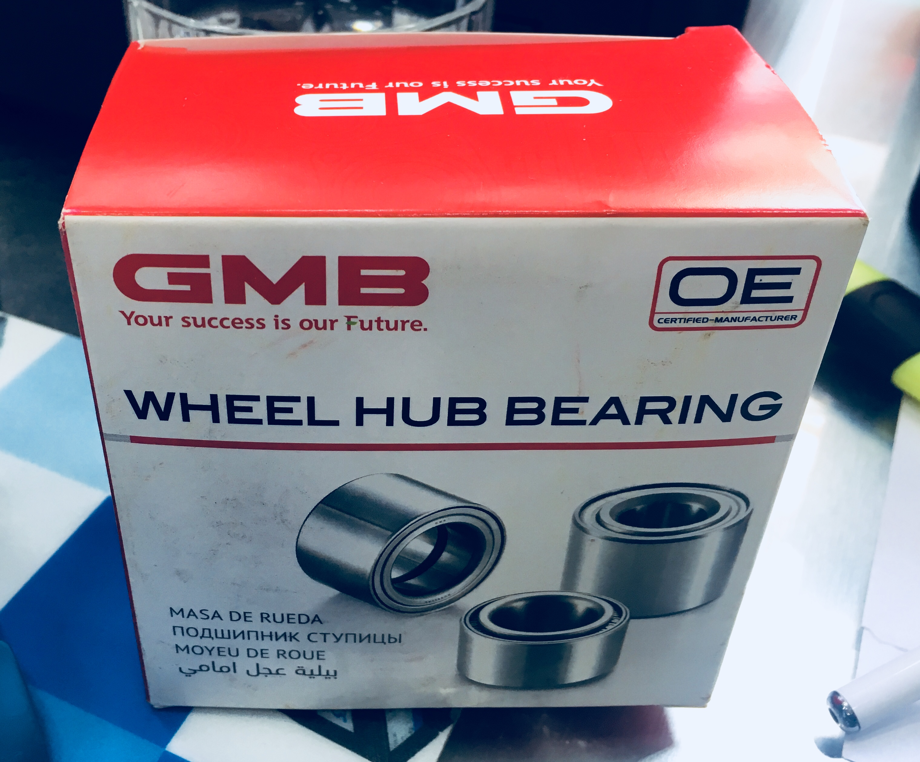 Gh0050r1 gmbkia pride bearing /42's