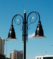 6 Mt Decorative Outdoor Lamp Post Street Lighting Pole_15
