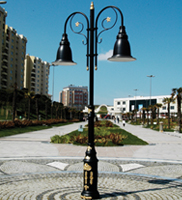 6 Mt Decorative Outdoor Lamp Post Street Lighting Pole_13