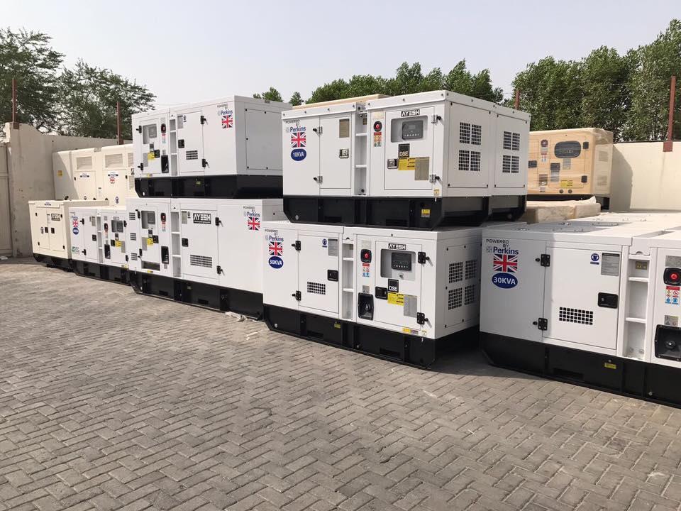 Perkins uk diesel generator